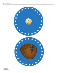 Play Ball! An Optical Illusion Craft (Printable Activity for Kids) | Spoonful