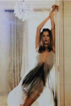 Photo by Mary McCartney (b. 1969), 2004, Kate Moos in Doorway.