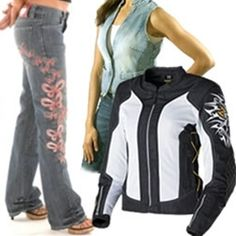 Women's Motorcycle Clothing From The Bikers` Den