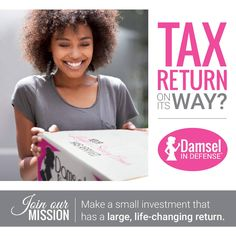 Invest in yourself this tax season! www.facebook.com/damselpro1068