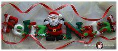 giuliana handmade: Móbile horizontal - Feliz Natal