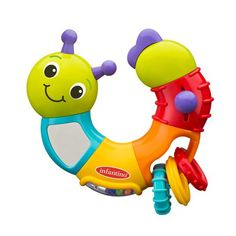 Infantino rattle. Retails for $5.97 at Walmart.