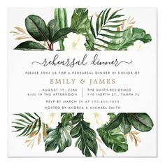 Shop Tropical Modern Palm Cactus White Floral Bridal Invitation created by HannahMaria. Personalize it with photos & text or purchase as is! Destination Wedding Invitations, Beach Wedding Invitations, Bridal Shower Invitations, Brunch Invitations, Wedding Envelopes, Wedding Stationery, Tropical Bridal Showers, Luau Bridal Shower, Tropical Party
