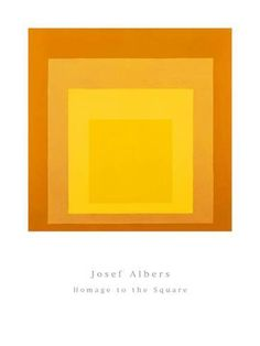 Homage To The Square Prints by Josef Albers - at AllPosters.com.au