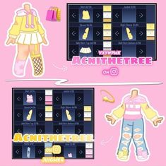 Cute Swag Outfits, Club Outfits, Girl Outfits, Drawing Anime Clothes, Manga Clothes, Cartoon Outfits, Anime Outfits, Cute Anime Character, Character Outfits