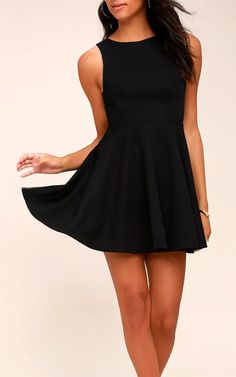 This dress is one of the best at this price point. TheGal About Town Black Skater Dress is great in black like pictured below but also comes in a nice red color that you can find by visiting the link below or by clicking on the picture. The skater skirt with the princess seamed bodice …