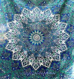twin indian cotton psychedelic star mandala tapestry wall hanging hippie bedding throw bedspread bohemian boho ethnic decor art by rangRaizzi on Etsy https://www.etsy.com/listing/211712227/twin-indian-cotton-psychedelic-star