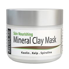 Healing Clay Mud Mask for Deep Pore Cleansing  Best Face Mask for Acne Oily Skin  Blackheads  Reduces Wrinkles  Minimizes Pores  Organic and Natural Skin Cleanser  Therapeutic Spa Mask  2oz ** Want additional info? Click on the image.