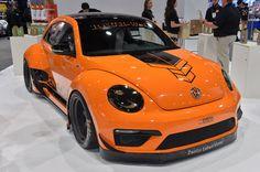 SEMA: Tanner Foust Racing ENEOS RWB Beetle is more pumpkin than Porsche