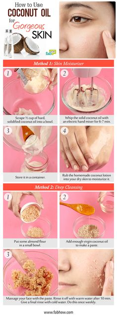 How to Use Coconut Oil for Gorgeous Skin. It help improve stretch marks, wrinkles and fine lines. It also lightens skin and evens out skin tone, which makes it useful for dealing with scars, spots, freckles and blemishes. Coconut Lotion, Coconut Oil For Acne, Benefits Of Coconut Oil, Lighten Skin Tone, Even Out Skin Tone, Belleza Natural, Oils For Skin, Skin Cream, Healthy Skin
