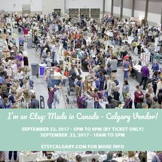 Wire Expressions is thrilled to be participating in the Etsy Calgary Made In Canada Market On Sept 22 & 23, 2017 at the Genesis Center in NE Calgary.