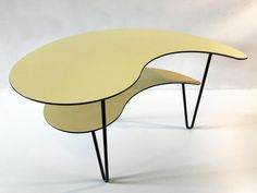 Vintage hairpin table