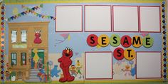 Sesame Street layout