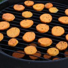 Smoked Sweet Potatoes recipe