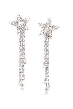 Chanel's Etoile Filante earrings... WOW! Sooooo pretty!