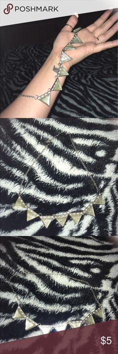 Cute necklace. Triangle spike necklace.  Super cute. Charlotte Russe Jewelry Necklaces
