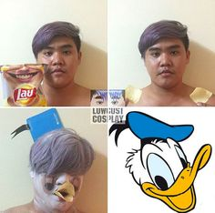 If Donald Duck saw this, he'd probably be sick: | The 20 Worst Damn Cosplays You've Ever Seen