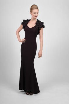 An elegant dress by Daymor for a mother of the bride, mother of the groom or wedding guest! Available at WhatchamaCallit Boutique.