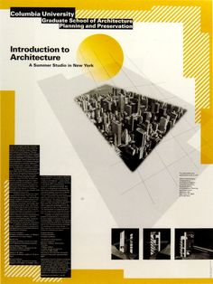 Columbia University: Introduction to Architecture by Willi Kunz