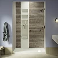 Shower Enclosure Kit Kohler Luxstone Showers Kohler Homesmart