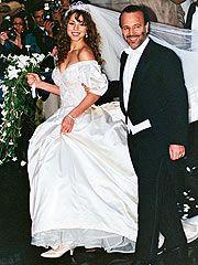 Wedding Dress Mariah Carey