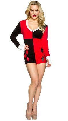 Harley Quinn Ladies' Romper