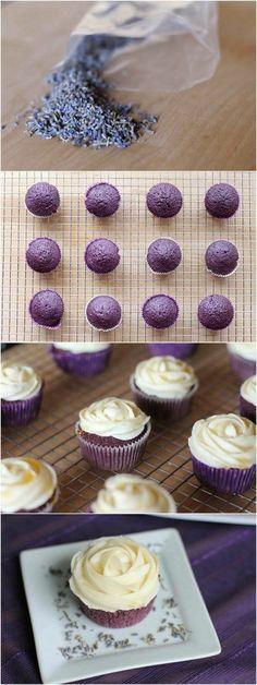 lils cupcakes dekorieren mit weißer sahne