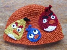 Angry birds crochet ...