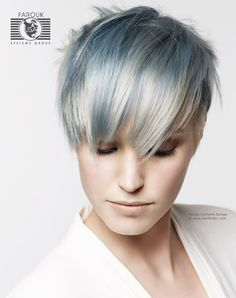 silver hair color bobs - Google Search