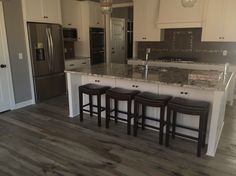 A floor called Stratford from WD Flooring's Otter Creek Collection.