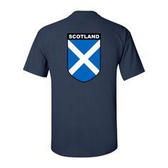 Scotland Coat of Arms Shirt - William Marshal Store.com