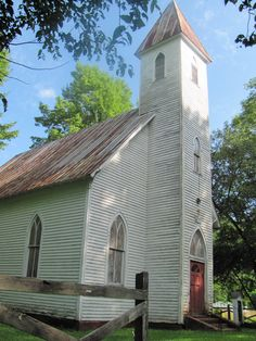 A wonderful old church near Snowshoe WV.