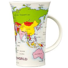 omg. its a combo of 2 of my favorite things. maps and mugs. then you add coffee and its 3 of my favorite things