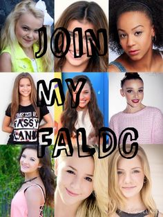 Plz join my FALDC all spots are open of these girls just comment who you want to be and then you will be added to the board and you have to follow to be on the team