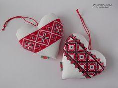 Ручная работа by natulja-best: Ад шчырага сэрца Christmas Crafts, Christmas Ornaments, Christmas Ideas, Decoupage Table, Baba Marta, Holiday Decor, Crochet, Blog, Handmade