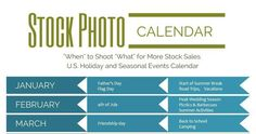 You need to plan on taking seasonal photos early, and we've created a fun printable stock ...