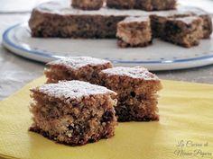 Torta di briciole di biscotti ricetta per recuperare rimanenze di dolci sbriciolati, biscotti, merendine, panettoni o colombe pasquali.