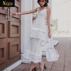 3c12c445489b Cheap YiLin Kay High end personalizzato 2017 estate stile pista di modo del  vestito Del ricamo