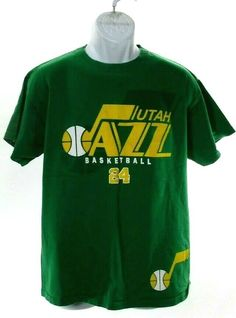11118ffd2 Vintage NBA Utah Jazz T Shirt Men s Sz L Large Paul Millsap 90 s Shirt  A39