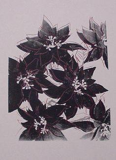 Andy Warhol - Poinsettias IIA.21b