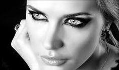 Resultado de imagen de maquillaje en blanco y negro