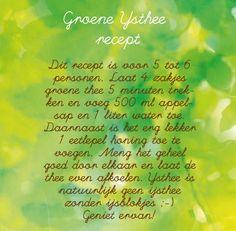 recept groene thee