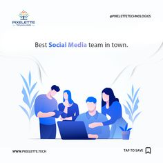 We believe that great minds and creative ideas when brought together can benefit the clients in the finest way possible. Get a chance to meet the best Social Media team in town at Pixelette Technologies and gain guidance from their unlimited professional knowledge.  #Pixelette_Technolgies_PK #Digital_Marketing #Agency #SEO #SMM #Business #Development #Ideas #Pakistan It Service Provider, App Development, Creative Ideas, Gain, Pakistan, Seo, Benefit, Digital Marketing, Knowledge