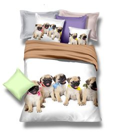 Mops bíle ložní povlečení Comforters, Toddler Bed, Blanket, Furniture, Home Decor, Colors, Pug Dogs, Creature Comforts, Homemade Home Decor