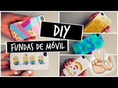 DIY: Fundas de Móvil | Andrea Seonee - YouTube fantasticas ideas
