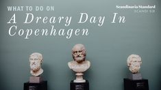 A list of fun things to do on a rainy, cold day in Copenhagen - alone, with friends or the kids.