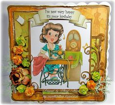 Another gorgeous card from our DT Member Sheryl. Be sure to visit her blog to see all her creations! http://marchharecards.blogspot.co.uk/