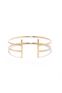 16b6b36abf3 Don't hesitate to make the First Instinct Gold Cuff a part of your jewelry