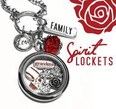 #Love #Baseball #Rose #Cupcake Spirit Lockets #Red