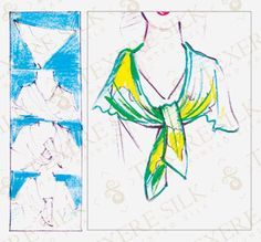 How to Tie a Scarf: Scarf Tying Styles: How to Tie a Shoulder Wrap